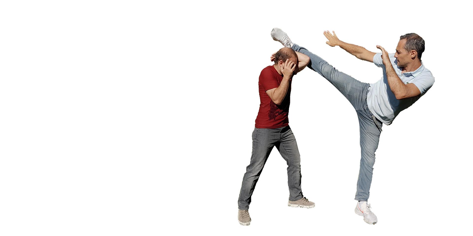 high-kick Krav Maga david fitoussi